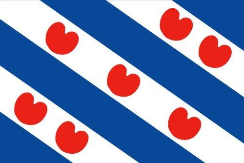 Yantec Friesland (NL) Flagge Fahne 90 * 150 cm