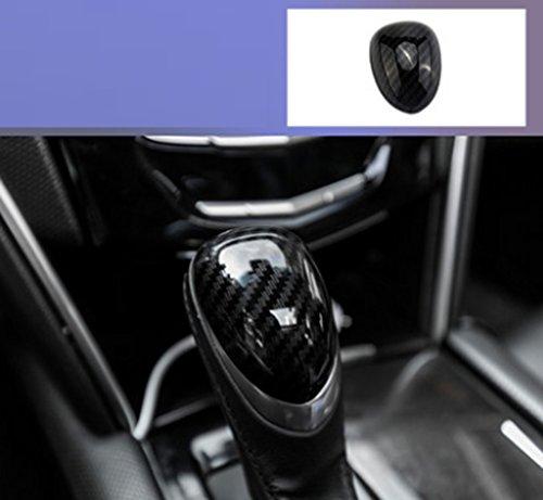 Eppar New Protecive Shift Knob Cover 1PC for Cadillac ATS 2012-2018 (Black)