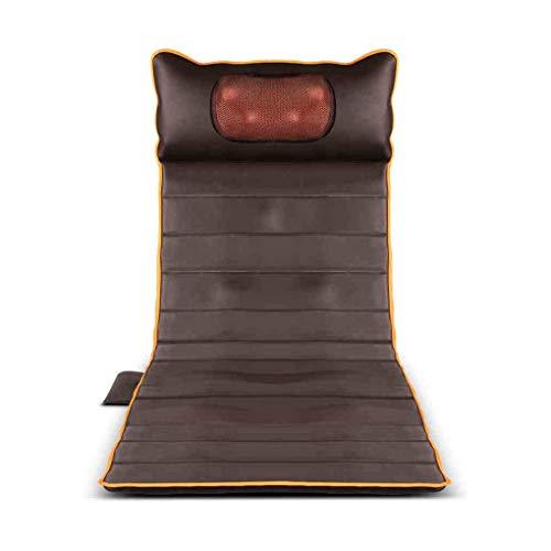 Ganzkörper-Massagematte Matratze mit Hitze und 15 Vibrationsmotoren für Ober- / Unterbeinrückseiten-Rückenschmerzlinderung Pinpoint Massage