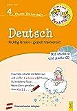 Lernen mit Teo und Tia Deutsch – 4. Klasse Volksschule mit CD: Richtig lernen – gezielt trainieren! (Teo und Tia: Richtig lernen – gezielt trainieren!)
