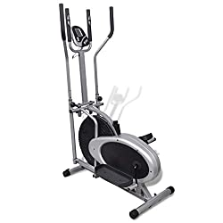 vidaXL crosstrainer elliptical trainer fitness stepper exercise bike cardio trainer
