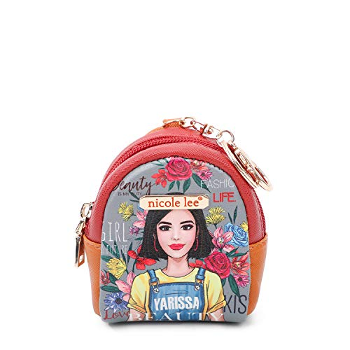 Mini Backpack Keychain with Key-ring and Lobster Claw Clasp (Soy Yarissa)