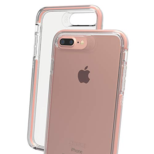 GEAR4 Piccadilly Phone Case with Advanced Impact Protection by D3O, Compatible with iPhone 6+ / 6S+ / 7+ / 8+ – Rose Gold