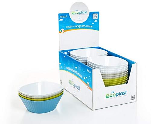 Azul Cobalto Ecoplast EC35/Cubo Ecologic 38/x 36.5/x 45/cm