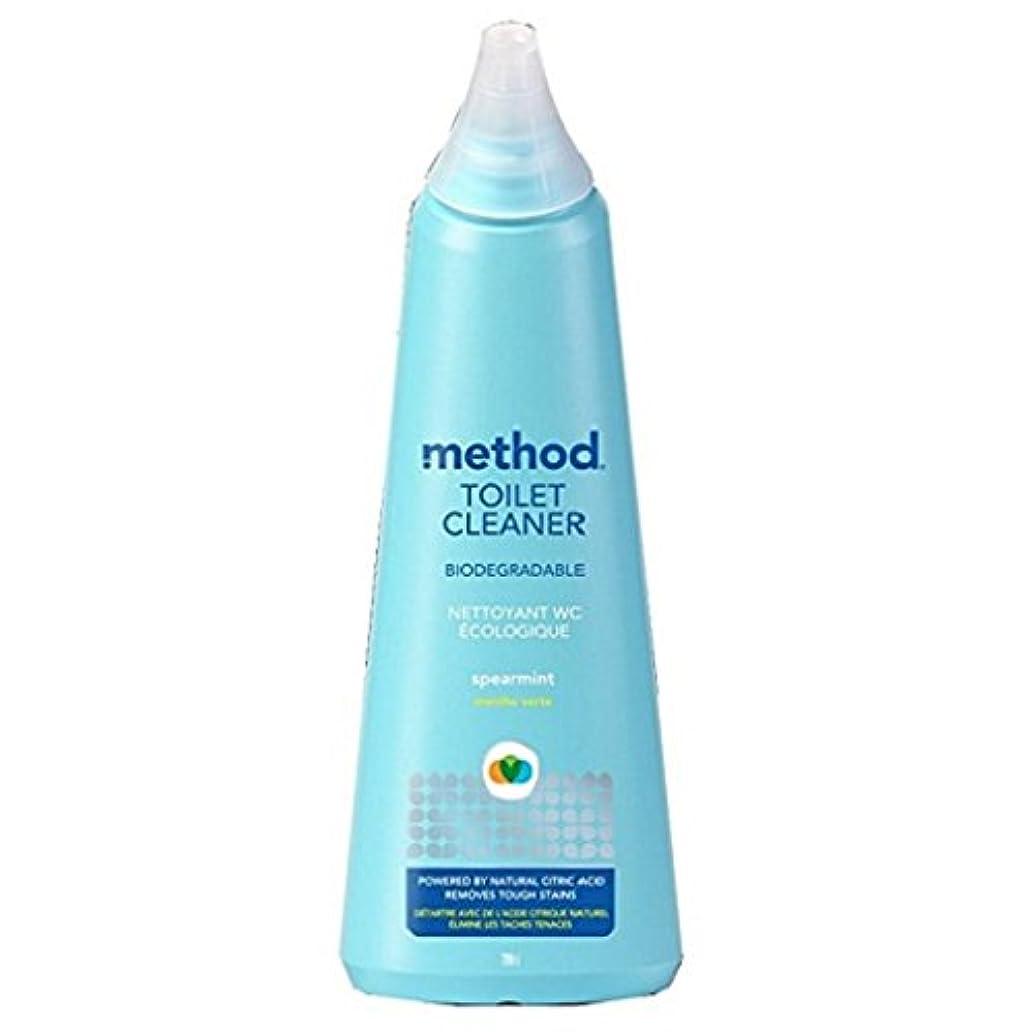 Method Antibacterial Toilet Bowl Cleaner - Spearmint - 24 oz - 2 pk