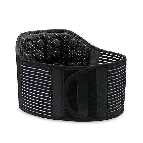 ZFF Soporte Lumbar Cinturón Calor Magnético Auto-Calentamiento Atrás Cinturón De...