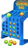 Bouncing Linking Shots Educational Toys 4 gewinnt Action, temporeiches Kinderspie Für Kinder - EIN lustiges Vorschul-Brettspiel - Besonderes Geschenk für Kinder, Familie Lustiges Intelligenz Spiel