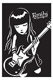 TTXXC Emily The Strange BASS Guitar Poster Decorat