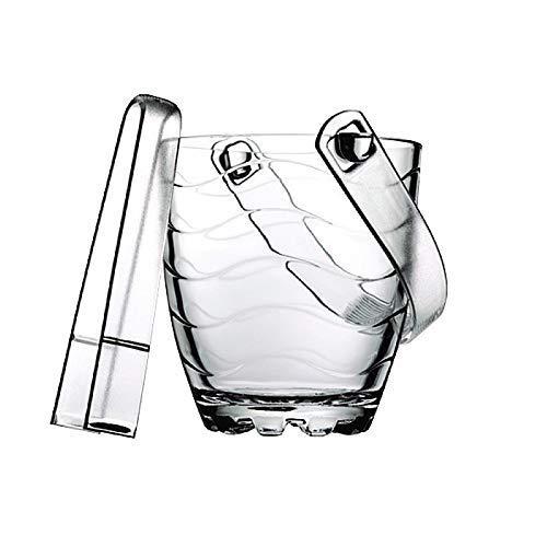 YWSZJ Eleganter Kristall-Eiskübel mit Griffen, Weinkühler, for Hochzeiten, Events, Partys (Größe: 12 * 13cm) (Color : C)