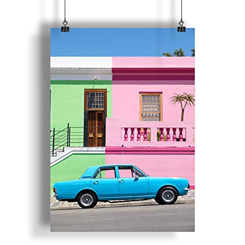 INNOGLEN Vintage Retro Old Classic Car Colorful A0 A1 A2 A3 A4 Satin Foto Poster a324h