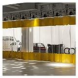 LIANGLIANG Cortina De Lona Transparente Impermeable para Trabajo Pesado, Panel Lateral Vertical Gruesa con Ojales, Paño Impermeable Plegable por Pérgola Aire Libre Porche
