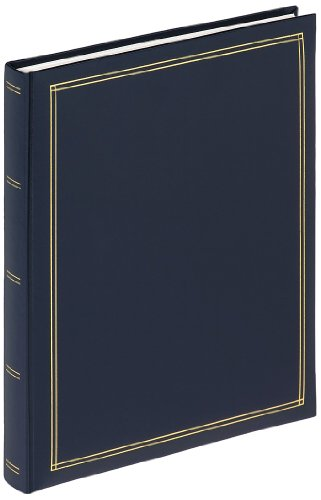 walther design SK-124-L Selbstklebealbum Monza, blau