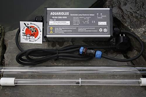 Rota Amalgam UVC Tauchstrahler Set 105 Watt für Tauch UVC Algenentferner