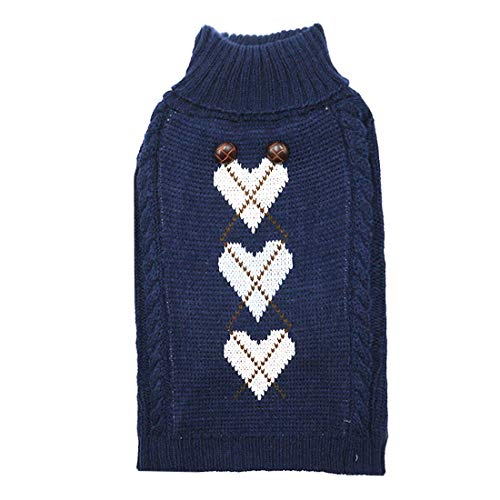 Love Dogs Sweater with Leash Hole