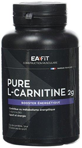 EAFIT pure l-carnitine gélules 2g - boite de 90