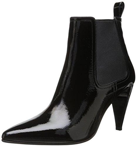 Robert Clergerie Women's Kute Ankle Bootie,Black,38.5 EU/8 B US