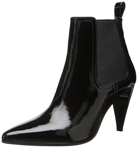 Robert Clergerie Women's Kute Ankle Bootie,Black,38.5 EU/8 B US