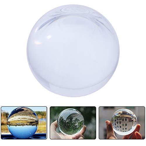 Smartfox Glaskugel Glasball Fotokugel Fotoball Objektivkugel Kristallkugel Lensball - Ø 80mm