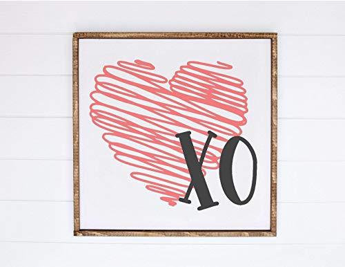 Ced454sy Valentijnsdag Teken 14 februari knuffels en kussen Cupid zijn mijn Home Decor Kids Teken