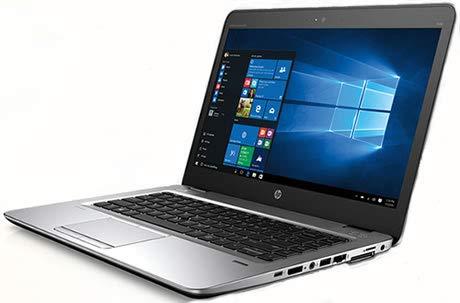 HP Elitebook 840 G3 14 pulgadas HD (1600p) | Ordenador portátil potente | Intel Core i7-6.Gen 8 GB DDR4 256 GB SSD Win 10 Pro teclado DE | 1,48 kg Plata (reacondicionado)