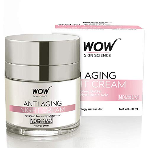WOW Anti Aging No Parabens & Mineral Oil Night...