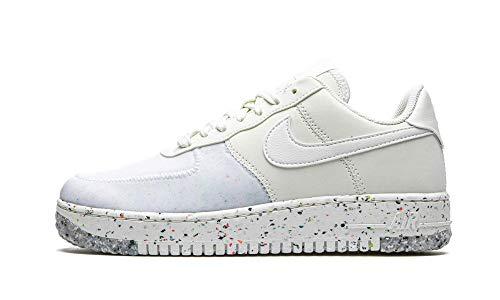 Nike Air Force 1 Crater, Zapatillas de básquetbol Mujer, Summit White/Summit White-Summit White, 37.5 EU