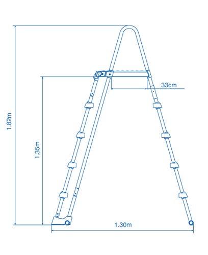 Intex Schwimmbadrahmen-Set Ultra Quadra, 549 x 274 x 132 cm, XTR 26356 - 6
