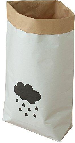 オスマック 日本の米袋屋さんがつくった北欧風ペーパーバッグ CLOUD 雲柄 YGK-4 1枚入