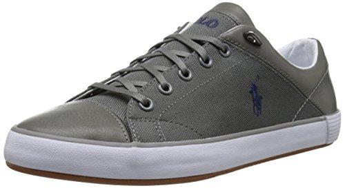 Polo Ralph Lauren Men's Jerom Fashion Sneaker, Charcoal Grey, 8.5 D US