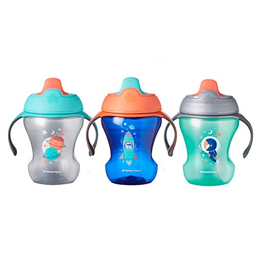 Tommee Tippee Infant Trainer Sippee Cups, Boy - 7+ months, 8oz, 3 pack