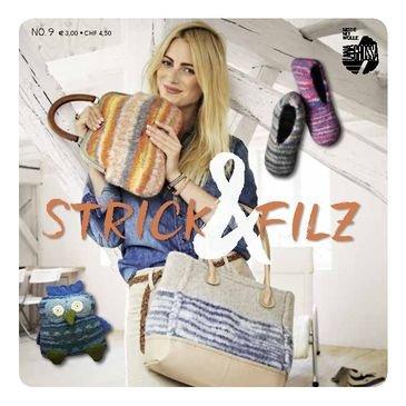 Lana Grossa Strick & Filz 9 Strickheft mit Strickanleitungen