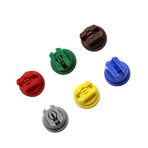 YIBANG-DIANZI Botellas de Spray En Abanico de Mochila con Boquilla rociadora Frutos agrícolas pulverización atomizada atomizador pulverizador Accesorios de jardín 10 Piezas (Color : A)