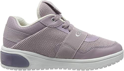 Geox Damen J XLED Girl A Sneaker, Pink (Mauve C8003), 39 EU
