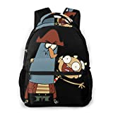 The Marvelous Misadventures of Flapjack School Bag Casual Unisex Fashion Cool Backpack Multifunction Backpack