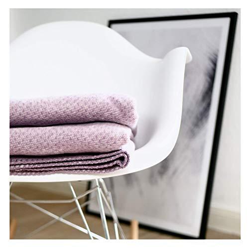 RIEMA kuschelige Baumwolldecke Emma - warme Decke für den Herbst und Winter - Kuscheldecke aus 100% Bio-Baumwolle (KBA) - fair&ökologisch 150x200 cm