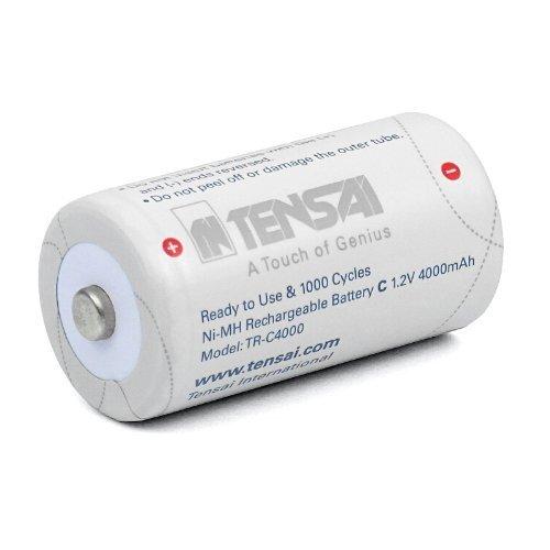 TENSAI Baby C NiMH ready to use batteria 4000 mAh