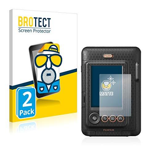 BROTECT 2X Entspiegelungs-Schutzfolie kompatibel mit FujiFilm Instax Mini LiPlay Displayschutz-Folie Matt, Anti-Reflex, Anti-Fingerprint
