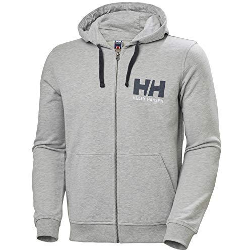 Helly Hansen Hh Logo Sweat à capuche zippé pour homme L gris
