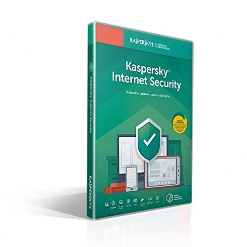 Kaspersky Lab Internet Security 2020 Licencia básica 1 Licencia(s) 1 año(s) Inglés, Español
