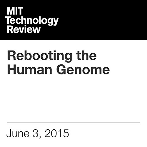 Rebooting the Human Genome cover art