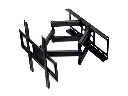 Monoprice TV Wall Mount Bracket For TVs 32' to 55, Full-Motion Articulating, Max Weight 77lbs, VESA Patterns Up to 400x400, Rotating, UL Certified - Select Series Black