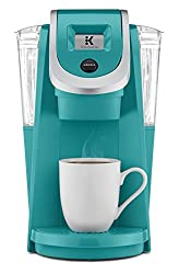 turquoise retro coffee maker - keurig colorful coffee makers