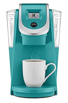 Keurig K250 Coffee Maker Single Serve K-Cup Pod Coffee Brewer With Strength Control Turquoise