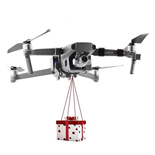 Breit und Breit für Drohne Zoom DJI Mavic 2 Pro und DJI Mavic 2, Drohnen-Clip, Transportgerät, nützliche Ladung, Hochzeits-Drohne, Angelköder