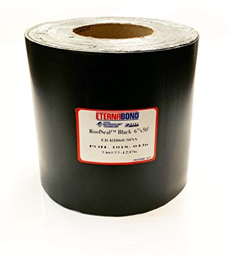 EternaBond RSB-6-50 RoofSeal Sealant Roof Repair Tape, Black (6' x 50', Black)