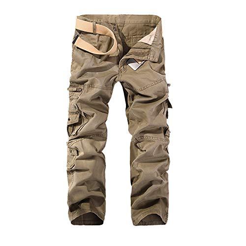 G-Anica Pantalones Cargo para Hombre,...