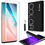 Screen Protector for Galaxy S10, G-Color [3D Tempered Glass] [Full Adhesive] [Case Friendly] Screen Protector for Samsung Galaxy S10