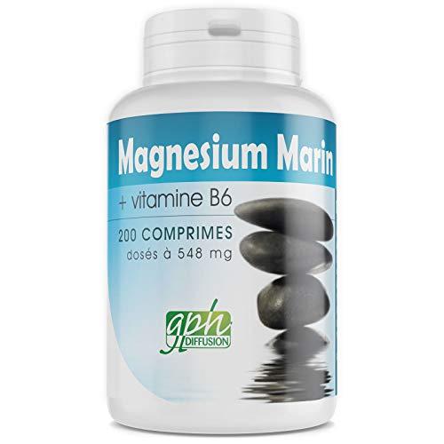 MAGNESIUM MARIN + Vitamine B6-548 mg - 200 comprimés