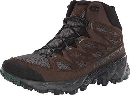 La Sportiva Trail Ridge MID Hiking Shoe, Mocha/Forest, 44