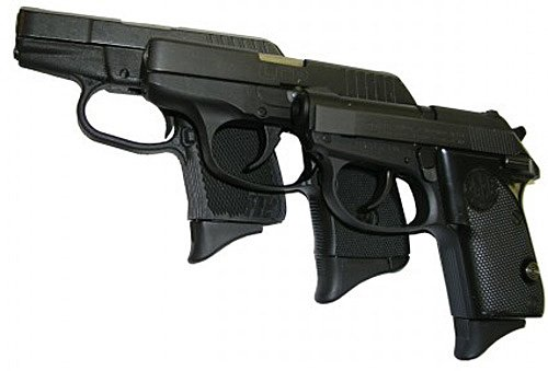 Pearce Grips PG-380 Grip Extension, fits Beretta 3032 Tomcat, Kel-Tec P3AT,...